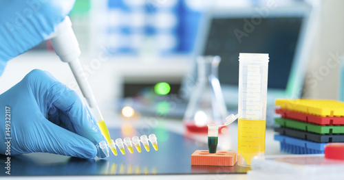 Micropipette and eppendorf tubes