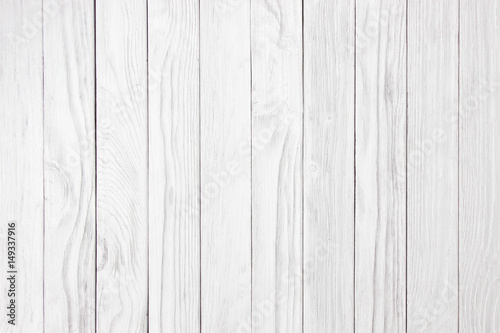 Tuinposter Hout white wood wall old vintage using classical background