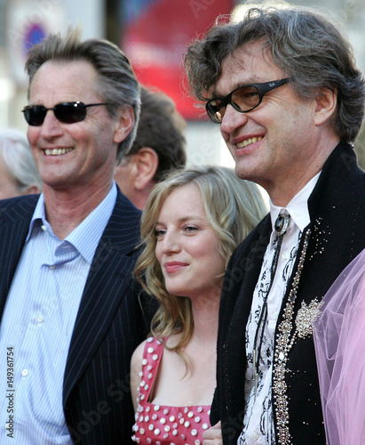 German director Wenders and cast arrive for screening of