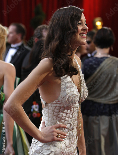 French Actress Marion Cotillard Winner Of The Best Actress
