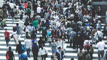群衆 雑踏イメージ
