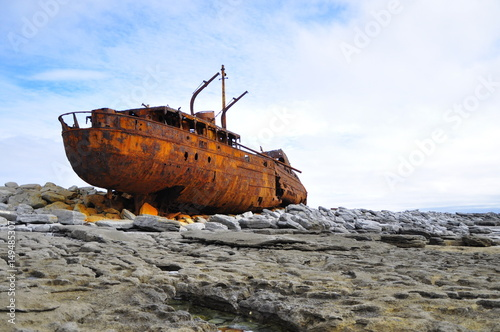 Poster Naufrage Shipwreck on Inis Oirr