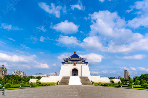 Photo  chiang kai shek memorial hall in taipei