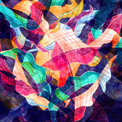 Obraz na SzkleAbstract bright colorful background