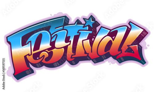 slowo-festiwalu-w-stylu-graffiti