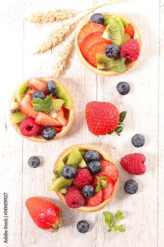 Papiers peints fruit tartlet