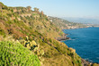 "The cliff called ""Timpa"" near Acireale, in the eastern coastline of Sicily"