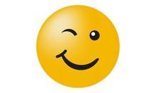 Smiley - Zwinkern