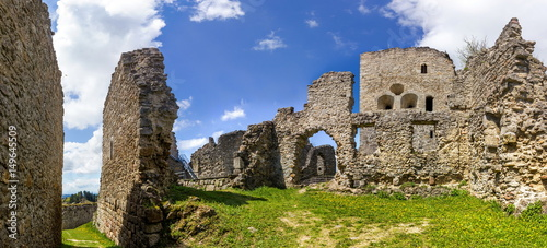 Canvas Prints Ruins Burgruine Ruttenstein