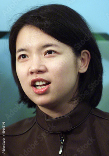 Former taiwan politician chu mei-feng in singapore. Buy this.