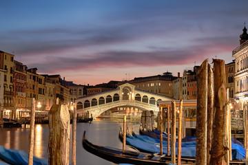 Obraz Rialto bridge and Grand canal, Venice