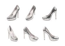 High-heeled Footwear Shoe Isol...