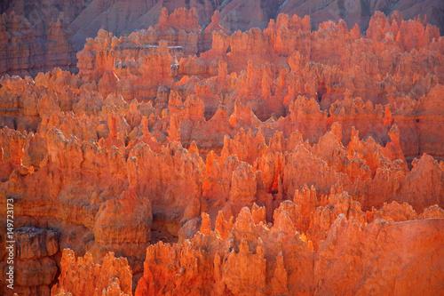 Ingelijste posters Natuur Park Bryce canyon