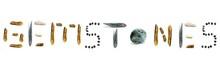 Gemstones Graphic Inscription ...