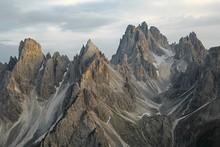 Dolomites Mountain Landscape
