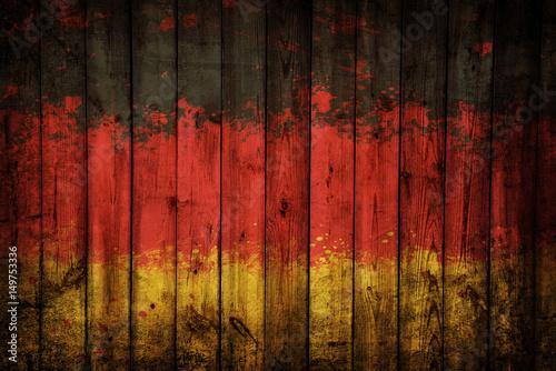 Plakat Flaga Niemiec