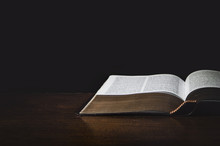 Isolated Holy Bible