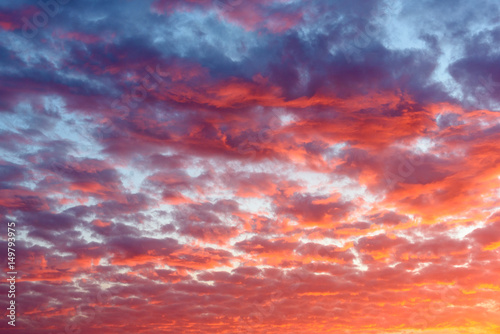 background-od-the-blood-red-evening