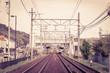 Railroad.Vintage style
