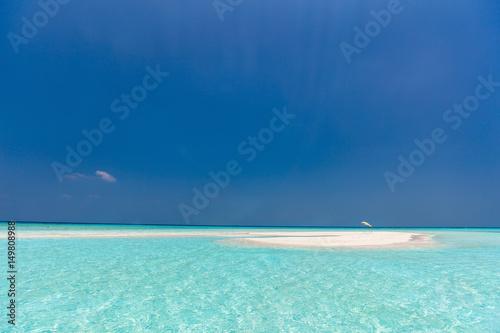 Fotografie, Obraz  Beautiful tropical beach at Maldives