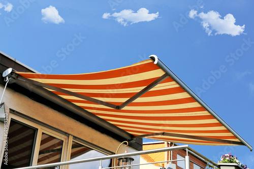 Fotografie, Obraz  Neue Terrassenmarkise