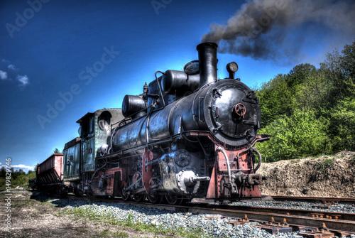 Zdjęcie XXL Vintage kolejowych