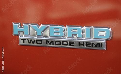 The Hybrid Logo Is Seen On The Dodge Durango Hemi Hybrid During The