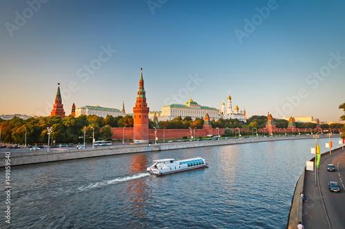 Платно  Moscow Kremlin at sunset