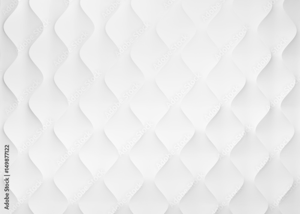 Fototapeta White Diamond pattern shape Abstract Background