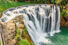 Beautiful Waterfall In Shifen ...