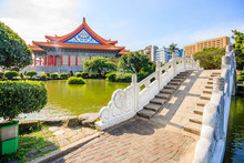 National Concert Hall At Liberty Square In Taiwan, It Is A Public Plaza For Gatherings In The Zhongzheng District Of Taipei.
