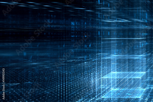 Abstract business science or technology background - 149951343