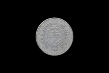 Philippine Coins Isolated On B...