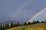 Fototapeta Rainbow - Podwójna tęcza