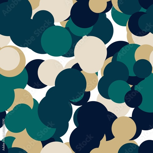 Abstract pattern art background in illustration space geometry.