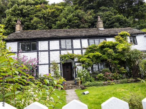 Photo Cottage in Pott Shrigley which  is in Cheshire East, England