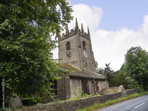 Photo St Christophers Church in Pott Shrigley which  is in Cheshire East, England