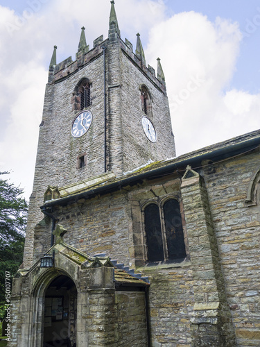St Christophers Church in Pott Shrigley which  is in Cheshire East, England Wallpaper Mural