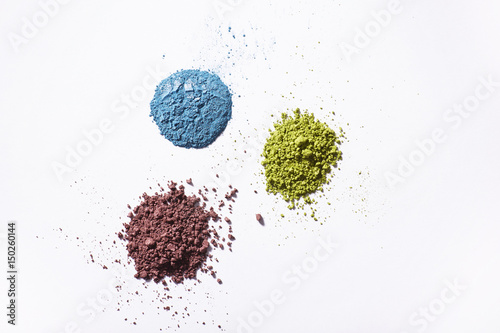 Valokuva  Crushed eye shadows