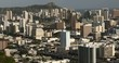 Downtown Honolulu Hawaii and Waikiki cityscape