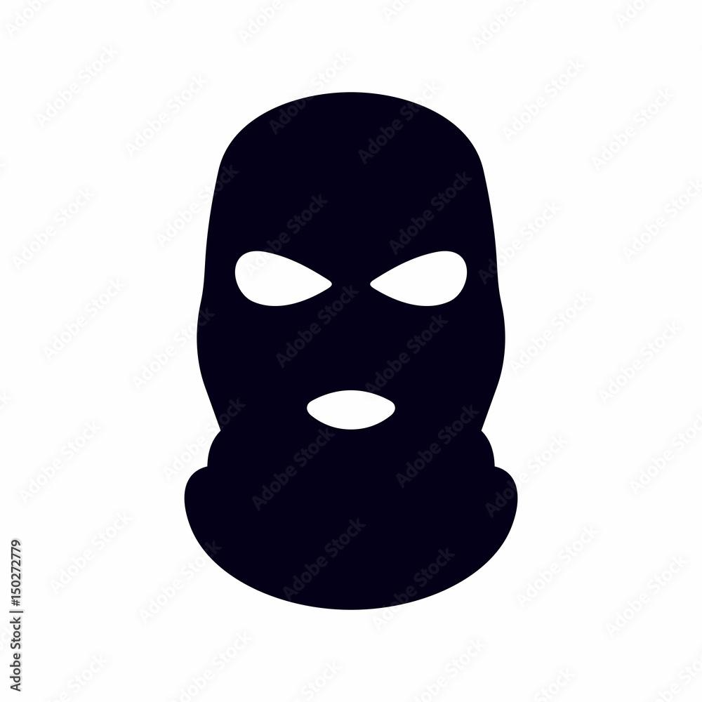 Fototapeta Bandit mask icon