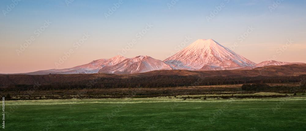 Fototapeta View of Tongario National Park in New Zealand.
