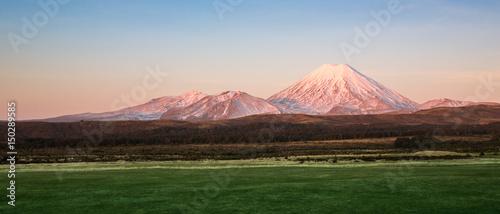 Fototapeta View of Tongario National Park in New Zealand. obraz