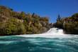Huka Falls on the Waikato River in New Zealand.