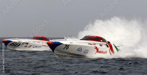 Evolution Class Powerboats Italcraft And Gfn Gibellato Compete