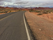 Under the grey sky, Valley of Fire