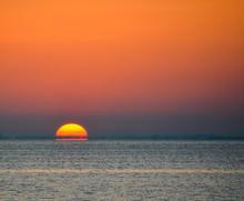 Sunrise Over Tampa Bay In Flor...