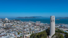 Coit Tower Aerial
