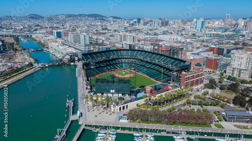 Photo  AT&T Park Aerial Photo