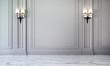 Leinwanddruck Bild - New scene 3d rendering interior of luxury living room